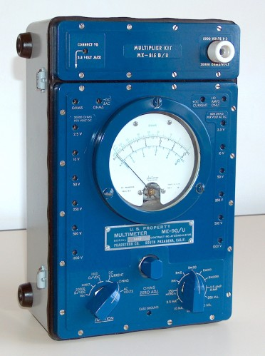 Multimeter, PHAOSTRON, Model ME-9G/U