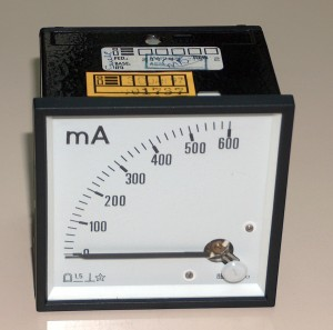 Ammeter, 0 to 600 mA, ENGRO