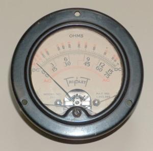 Ammeter (Multi Functions), TRIPLETT, 321