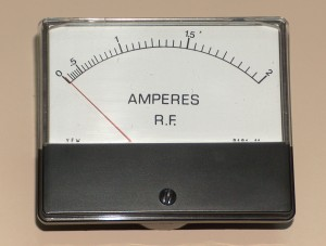 RF Ammeter, 0 to 2 A, YEW