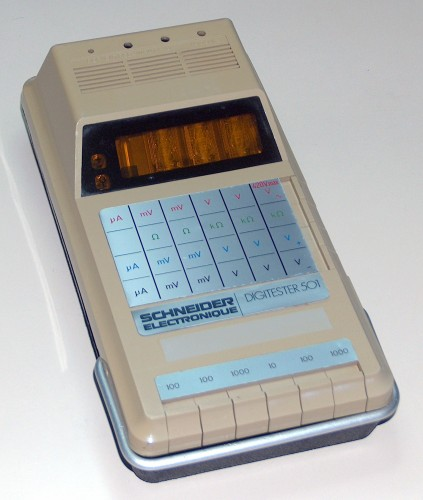 Digitester, SCHNEIDER ELECTRONIQUE, Model 501 (Donated by Uili Reinheimer)
