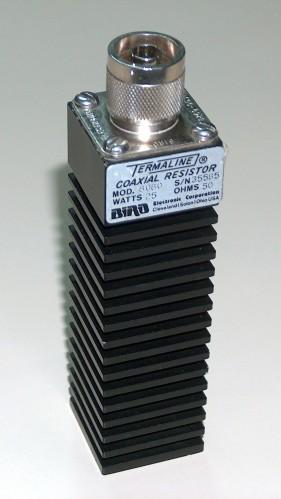 Coaxial Resistor, BIRD, Model 8080
