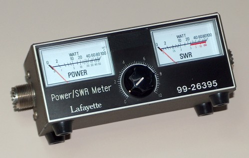 Power / SWR Meter, LAFAYETTE, Model 99-26395