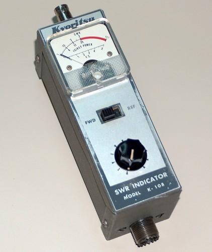 SWR Indicator, KYORITSU, Model K-108