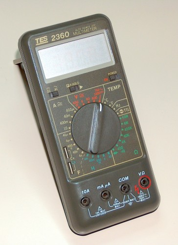 Digital Multimeter, TES, Model 2360