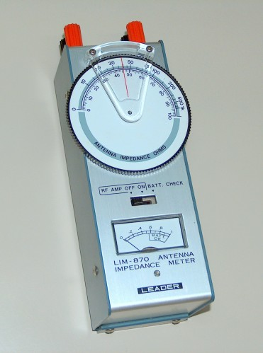 Antenna Impedance Meter, LEADER, Model LIM-870