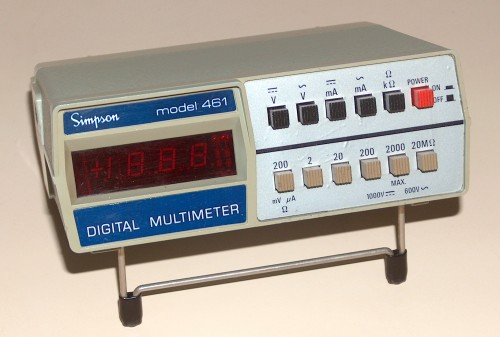 Digital Multimeter, SIMPSON, Model 461