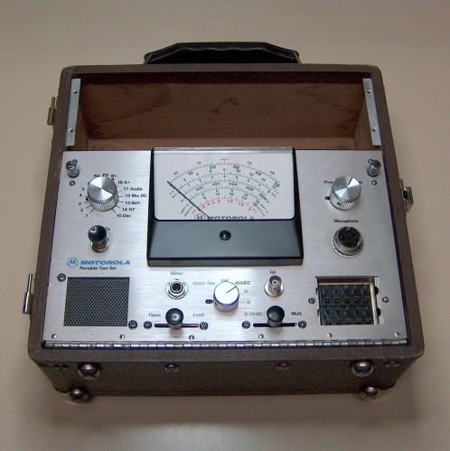 Portable Test Set, MOTOROLA, Model S1056C
