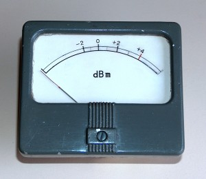 dBm Level Meter, Type I