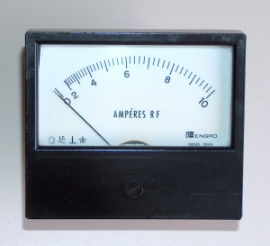 RF Ammeter, 0 to 10 A, ENGRO