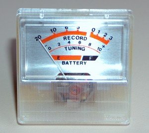 Record Level Meter - Tunnig and Battery Level Tester