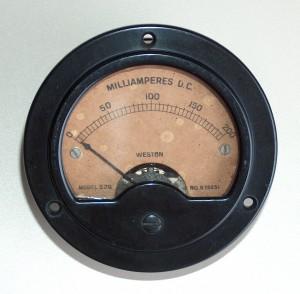 Ammeter DC,