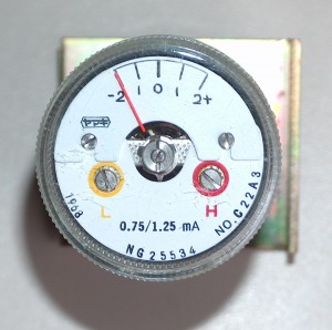 Level Meter, -2 to +2 dB,