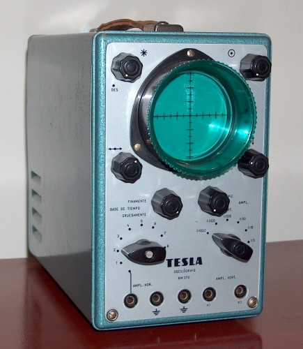 Oscilloscope, TESLA, Model BM370