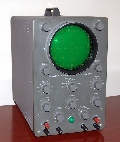 Oscilloscope, HEATHKIT, Model O-12