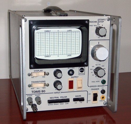 Speed Oscilloscope, PLESSEY, Model TDMS 80