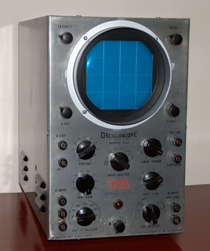 Oscilloscope, EICO, Model 460