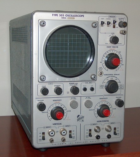 Oscilloscope, TEKTRONIX, Model 503