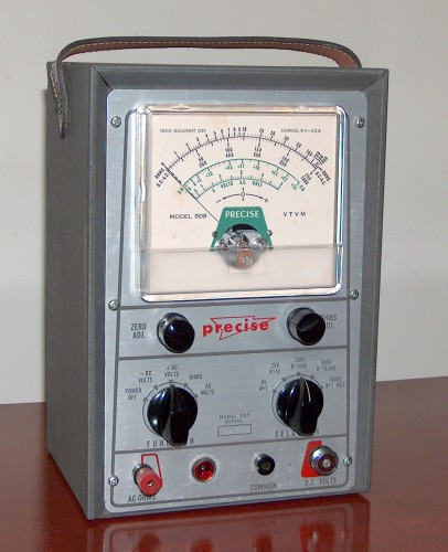 Electronic Multimeter (VTVM), PRECISE, Model 909