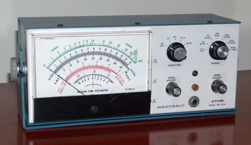 Electronic Multimeter (VTVM), HEATHKIT, Model IM-5228