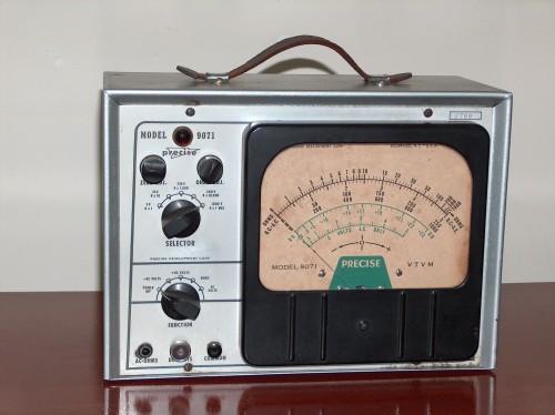 Voltmeter, PRECISE, Model 9071