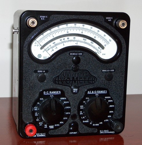 Multimeter, AVOMETER, Model 8
