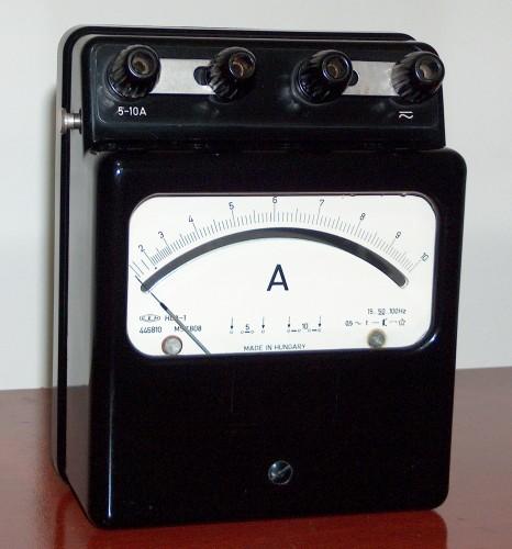 Ammeter, EKM, Model HLA-1