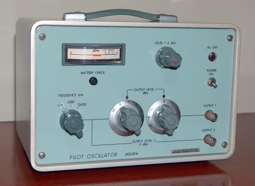 Pilot Oscillator, ANRITSU, Model MG-49A