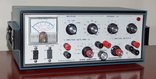 Sine-Square Audio Generator, HEATHKIT, Model IG-5218