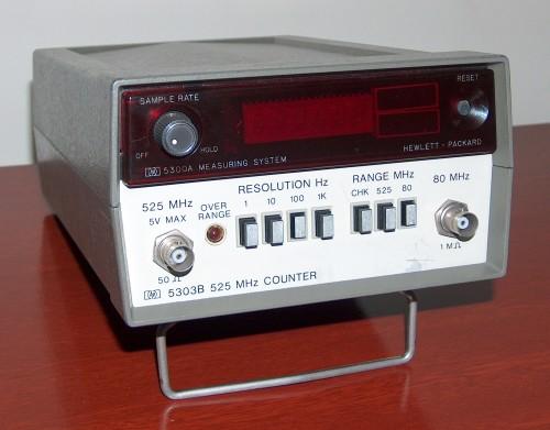 Counter, HEWLETT PACKARD, Model 5303B