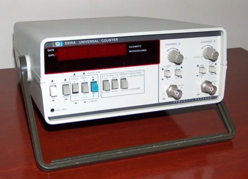 Universal Counter, HEWLETT-PACKARD, Model 5314A
