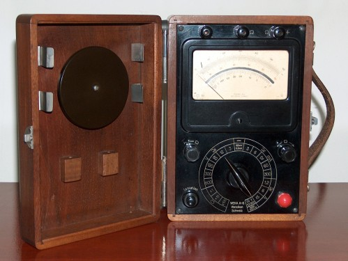 Multimeter, WETZIKON SCHWEIZ, Model WEKA A-G