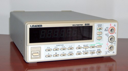 Multimeter, LEADER, Model 856