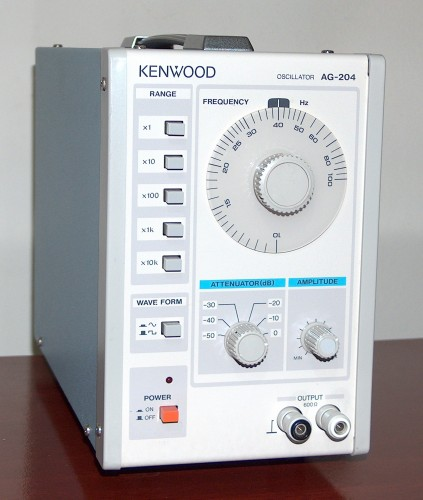 Audio Oscillator, KENWOOD, Model AG-204