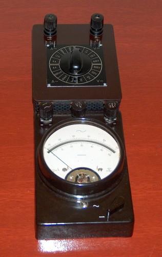 Volt-Ammeter, xxx, Model xxx