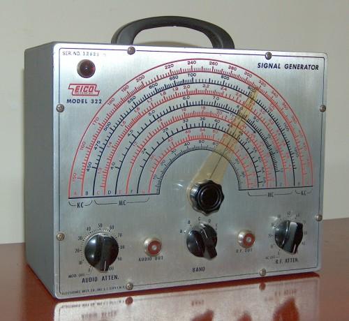 Signal Generator, EICO, Model 322