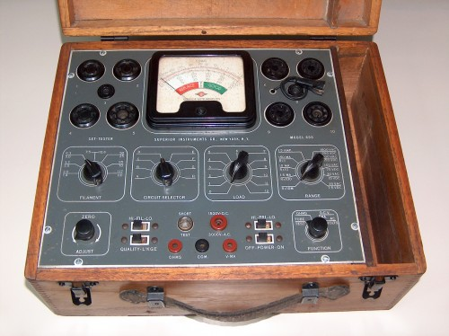 Tube Tester, SUPERIOR INSTRUMENTS, Model 600