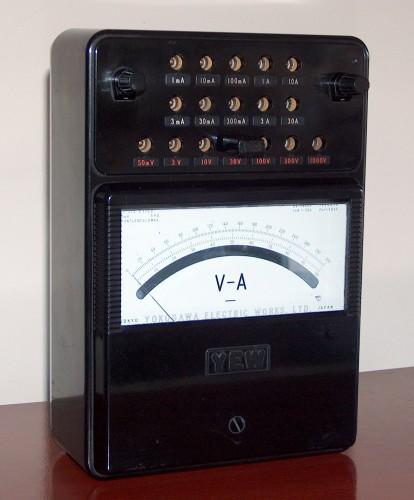 Volt-Ammeter, YOKOGAWA, Model 2012