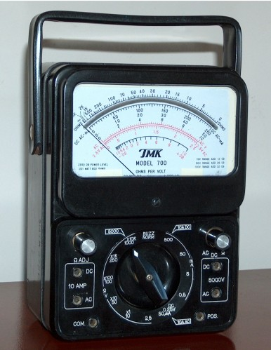 Multimeter, TMK, Model 700