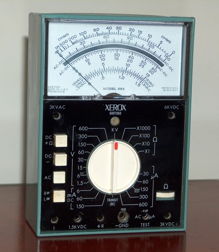Multimeter, XEROX, Model 664