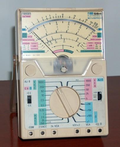 Multimeter, ENGRO, Modelo 584
