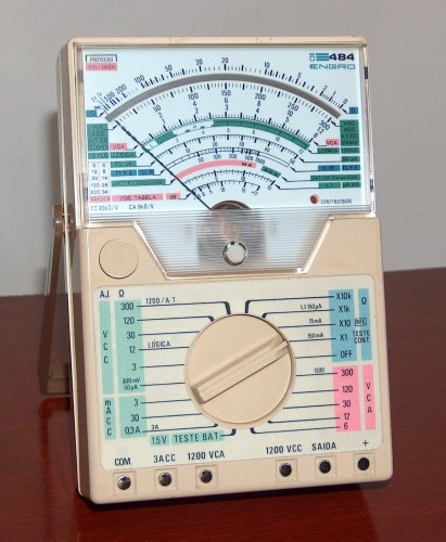 Multimeter, ENGRO, Modelo 484
