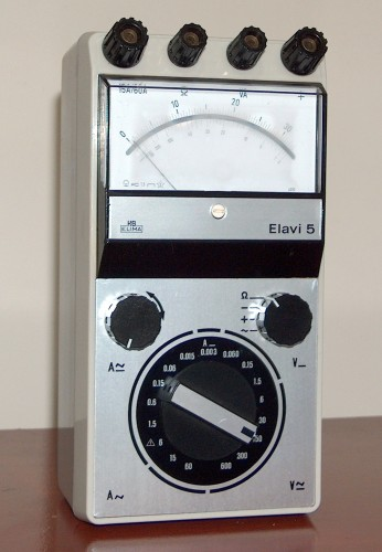 Multimeter, HARTMANN & BRAUN, Model Elavi 5