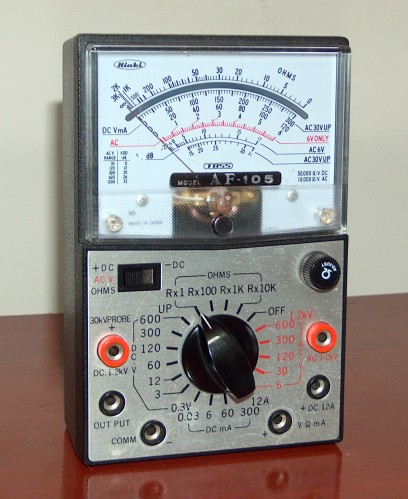 Multimeter, HIOKI, Model AF-105