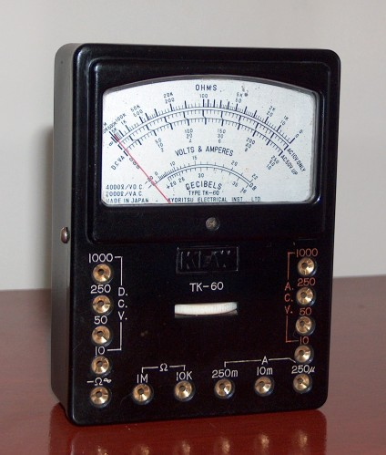 Multimeter, KYORITSU, Model TK-60