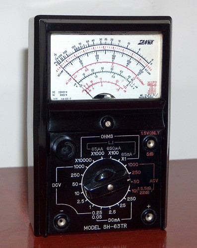 Multimeter, SANWA, Model SH-63TR