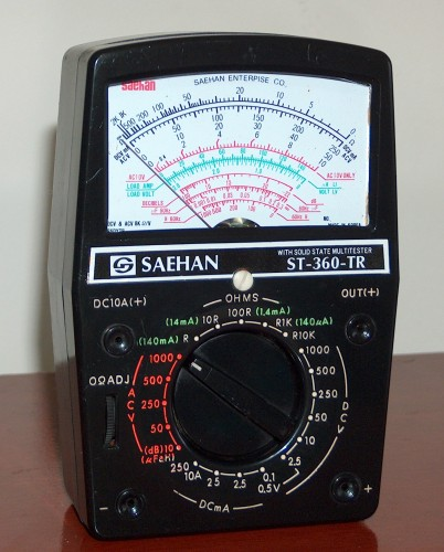 Multimeter, SAEHAN, Model ST-360-TR