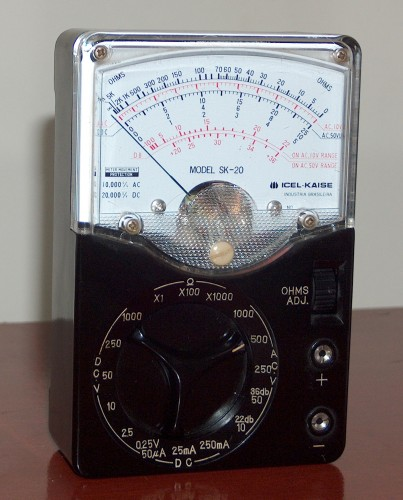 Multimeter, ICEL-KAISE, Model SK-20