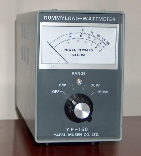 Dummyload Wattmeter, YAESU, Model YP-150