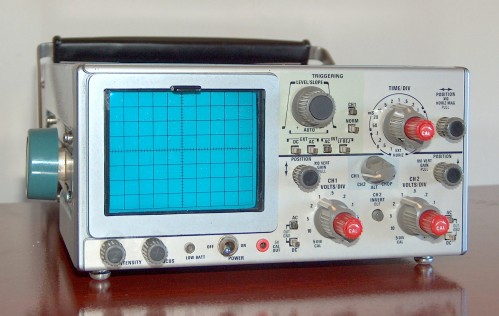 Oscilloscope, SONY/TEKTRONIX, Model 326